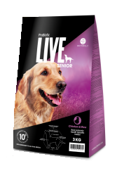 Probiotic live hundefoder m?rker